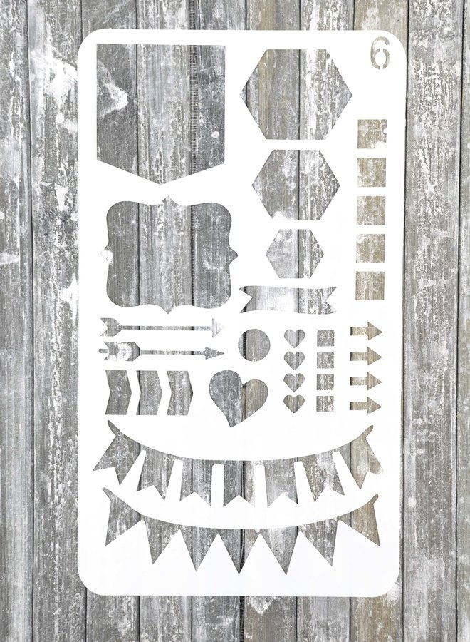 Bullet journal Stencil 6