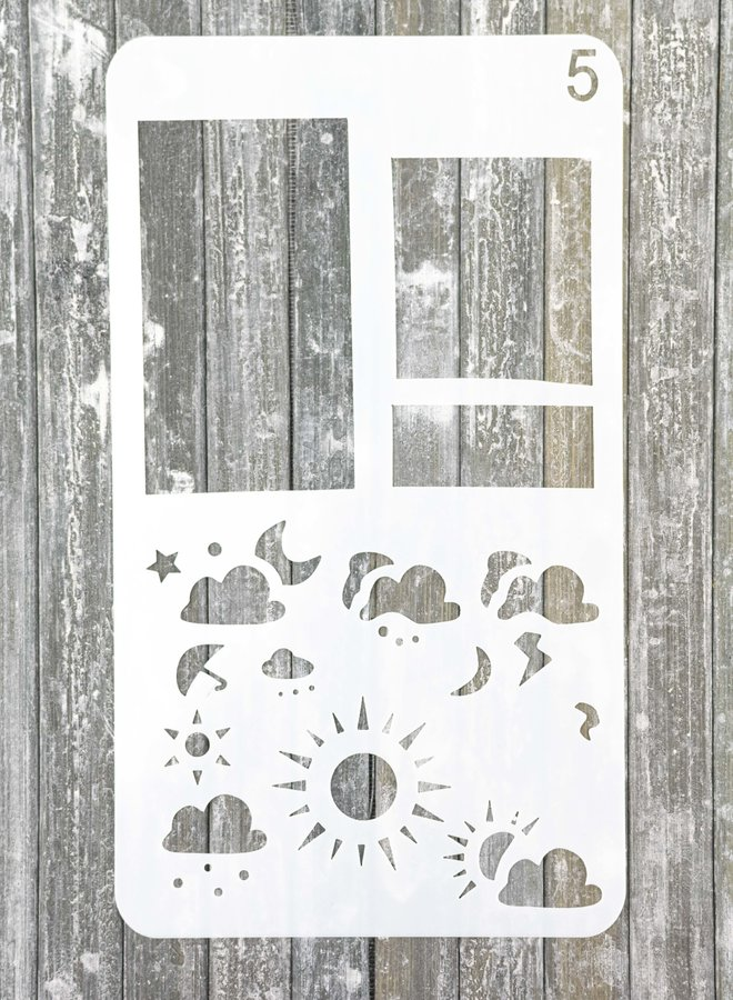 Bullet journal Stencil 5