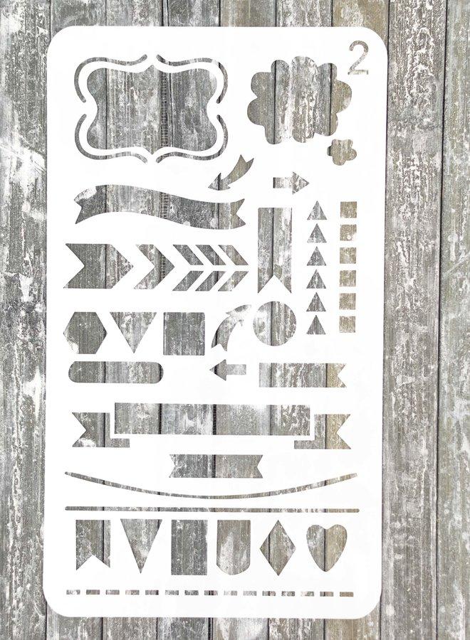 Bullet journal Stencil 2