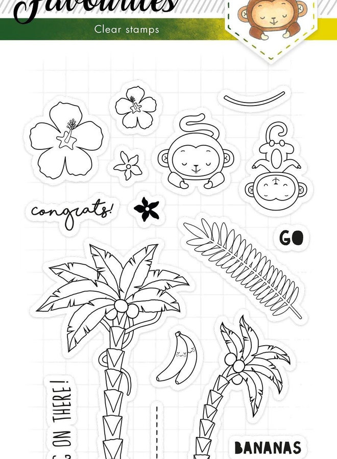 Studio Light - Clear stamp A5 Favourites 335