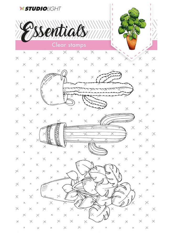 Studio Light - Clear stamp A6 Essentials 308