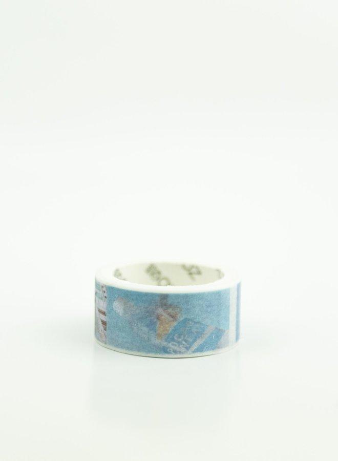 Washi tape l Foto blauw