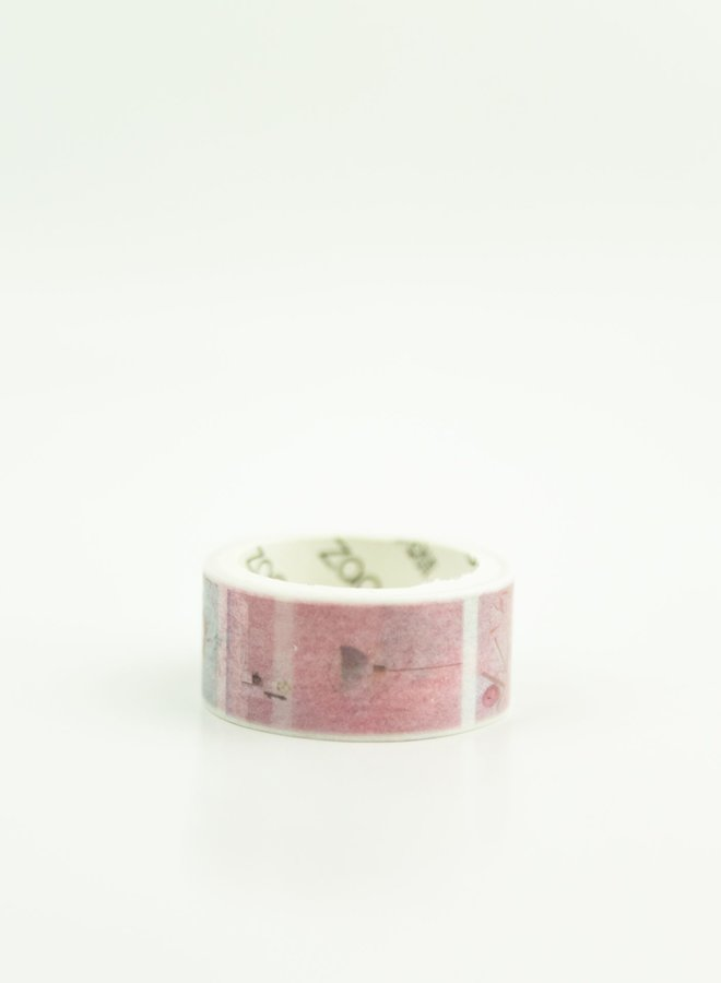 Washi tape | Foto roze