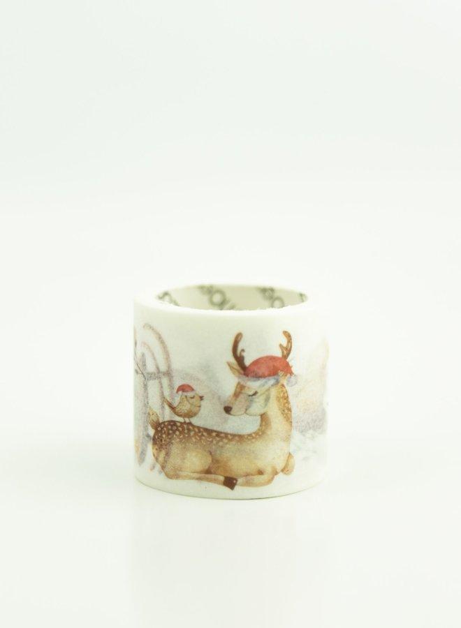 Washi tape | Kerst hert