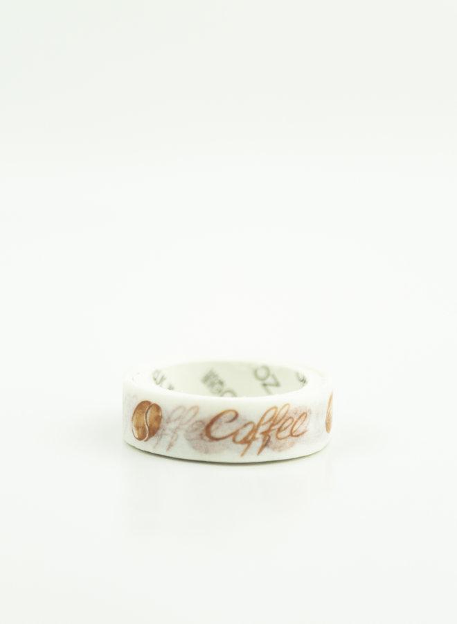 Washi tape l Koffie