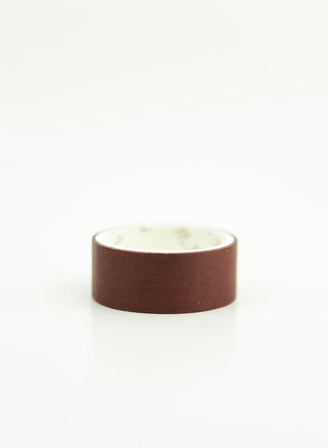 Washi tape l Rood bruin