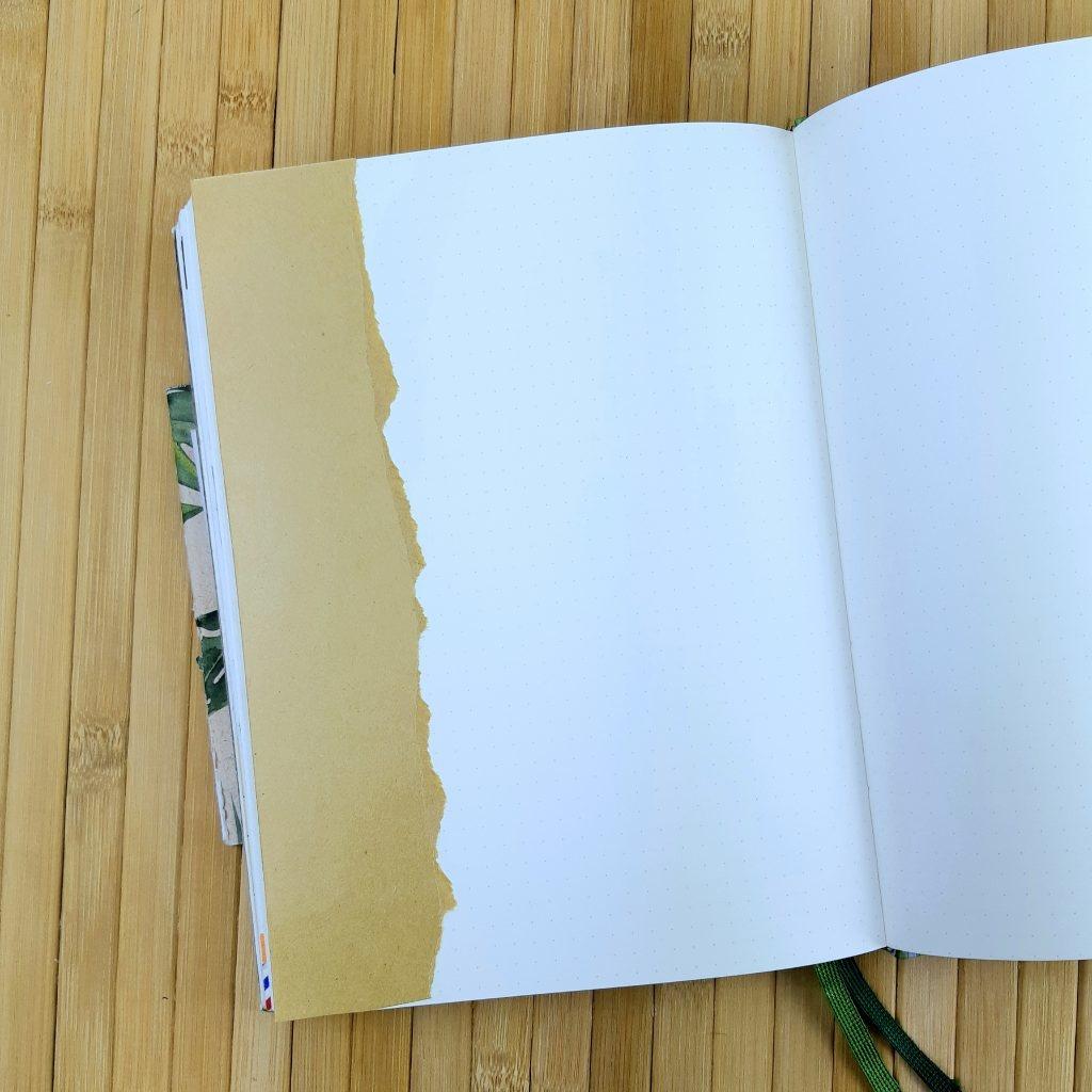 Broodzakken gebruiken in een bullet journal