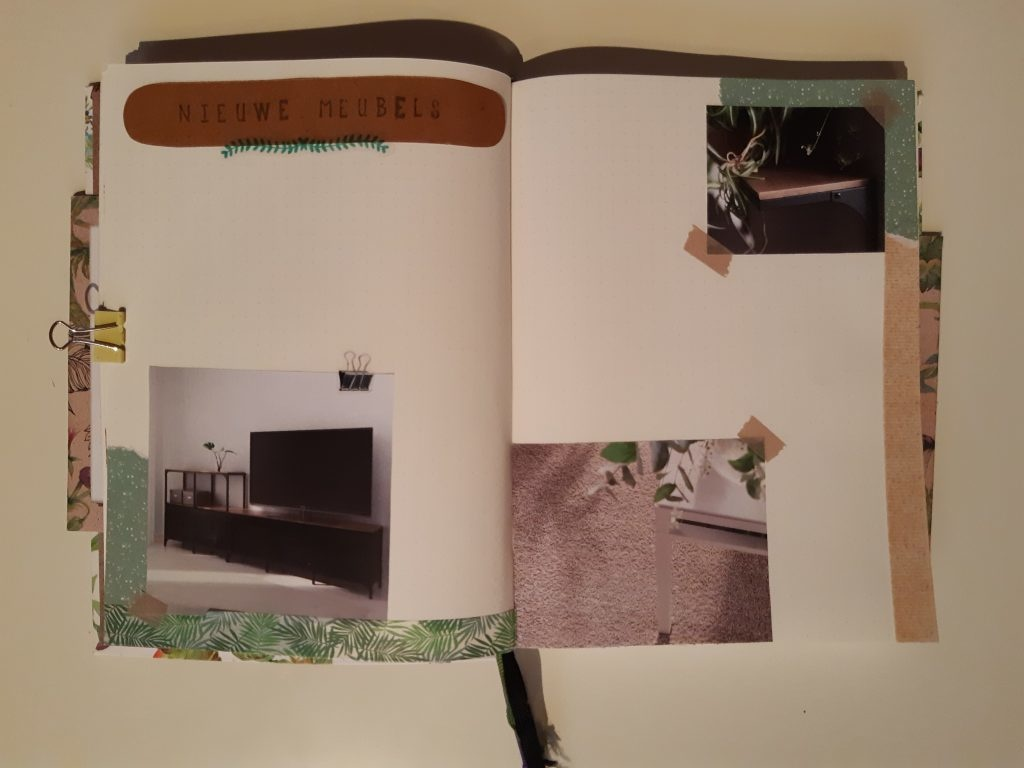 Bullet journal maken stap 4