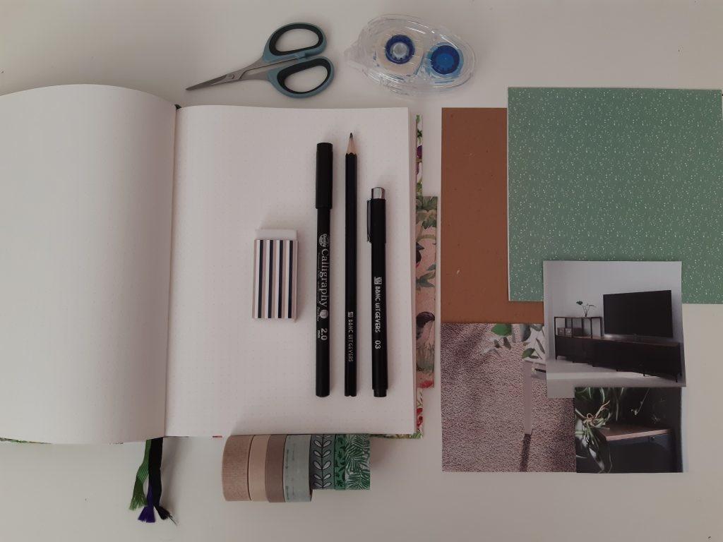 Bullet journal maken stap 1