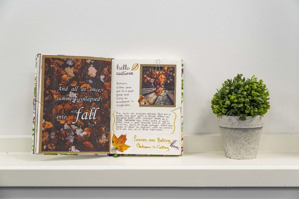Bullet journal thema herfst