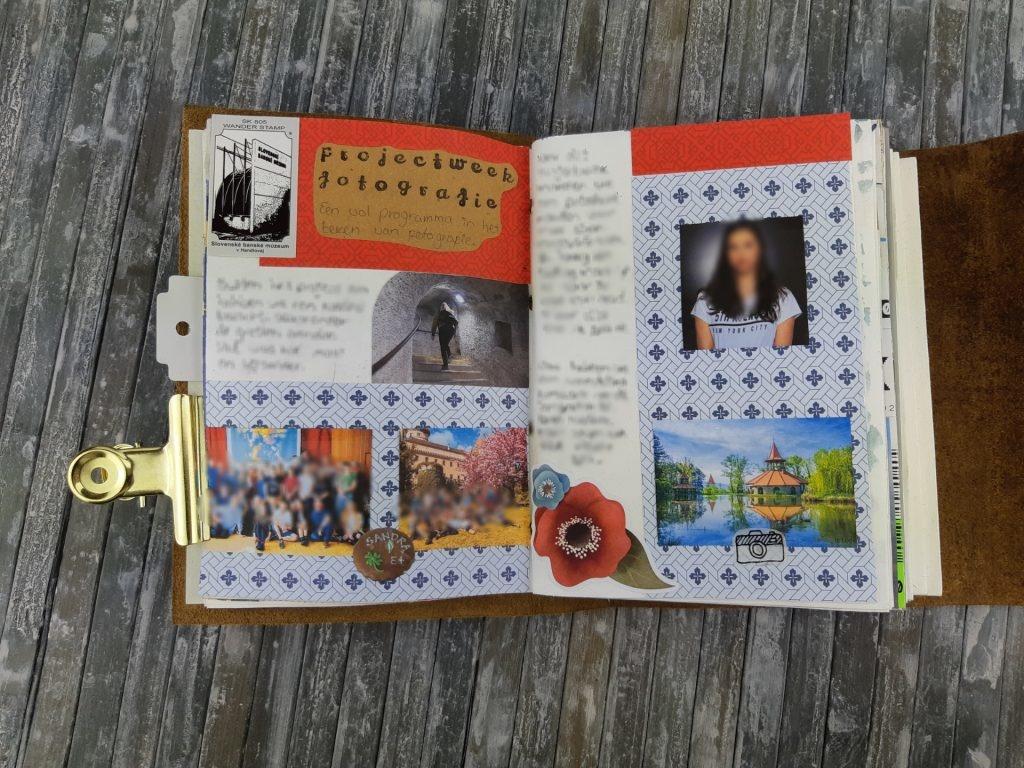 Bullet journal idee reizen