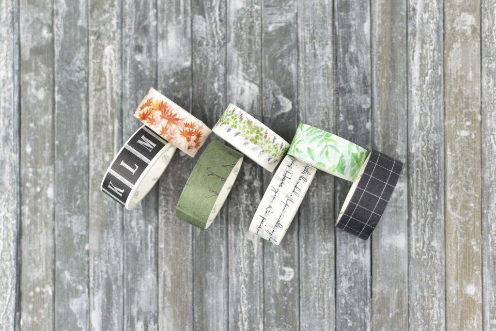 Bullet journal washi tapes