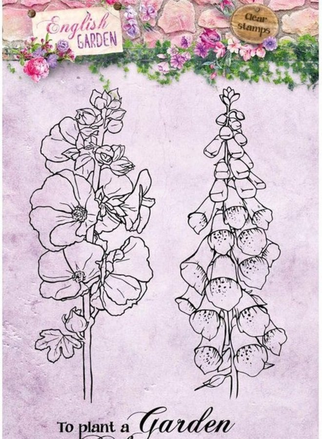 Studio Light - Clear stamp A6 English garden 432