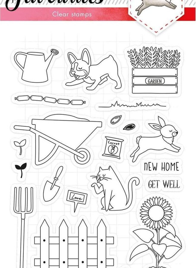 Studio Light - Clear stamp Favourites 425