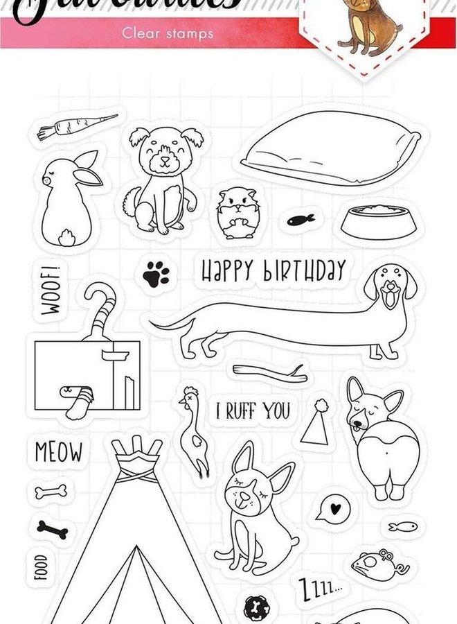Studio Light - Clear stamp Favourites 423
