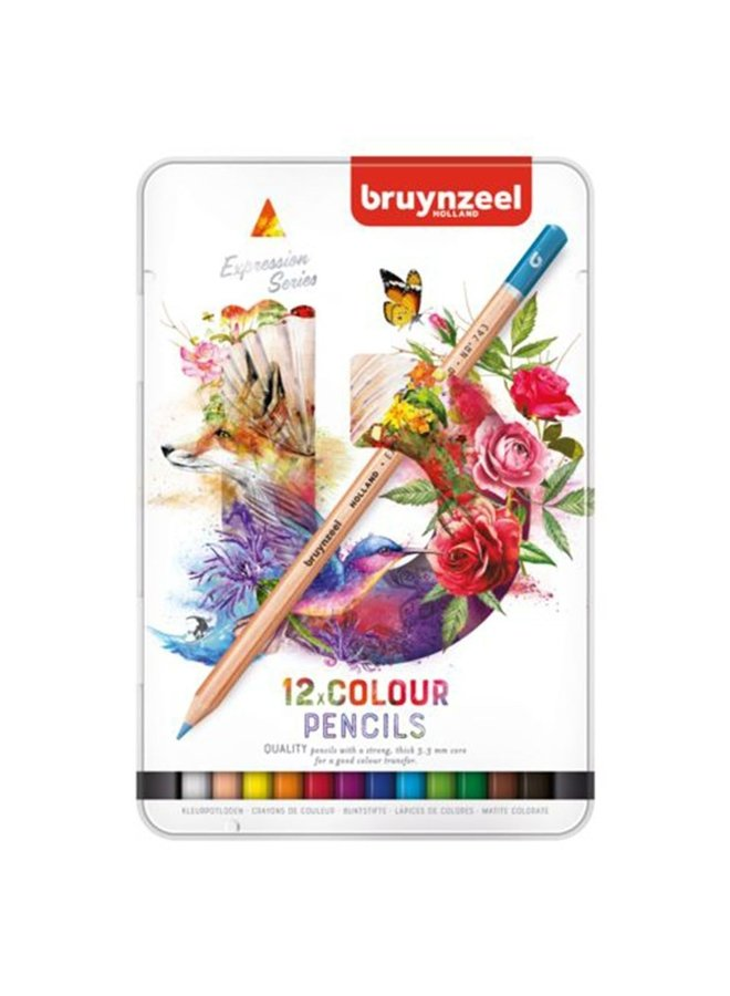 Bruynzeel Expression colour pencils 12 stuks