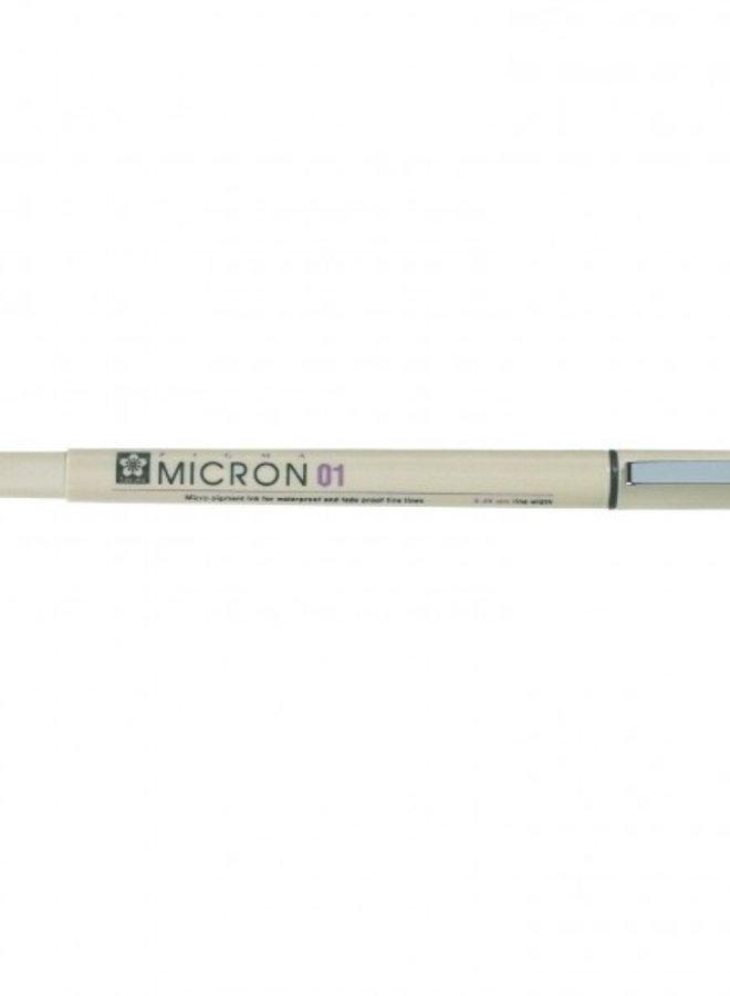 Sakura - Pigma Micron 01 Fineliner Zwart - 0,25mm