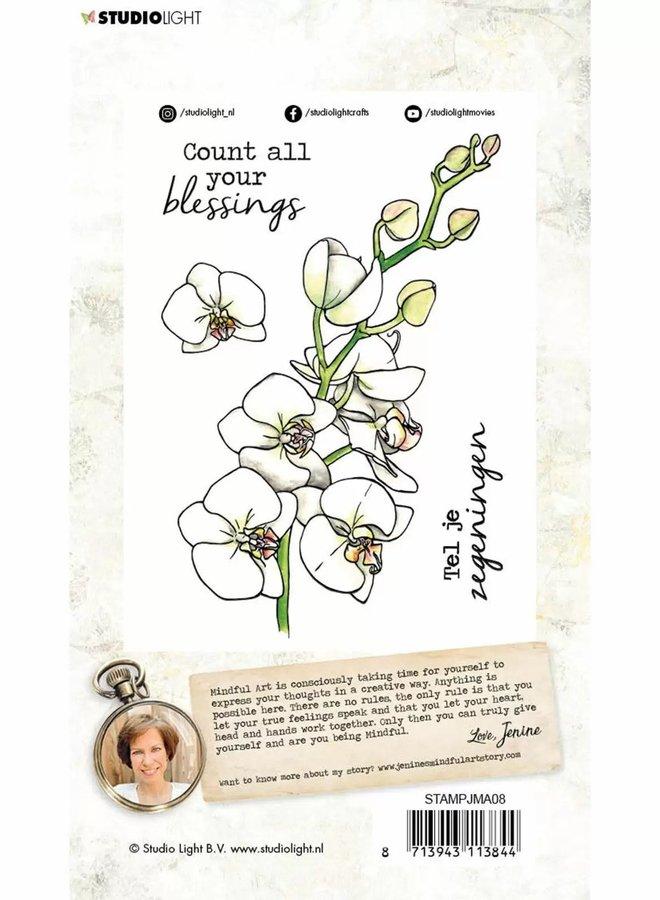Studio Light - Clear stamp A6 Jenine's Mindful Art 2.0 08