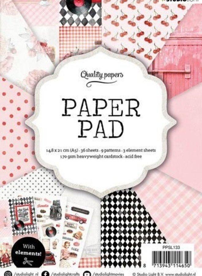 Studio Light - Paper pad Retro