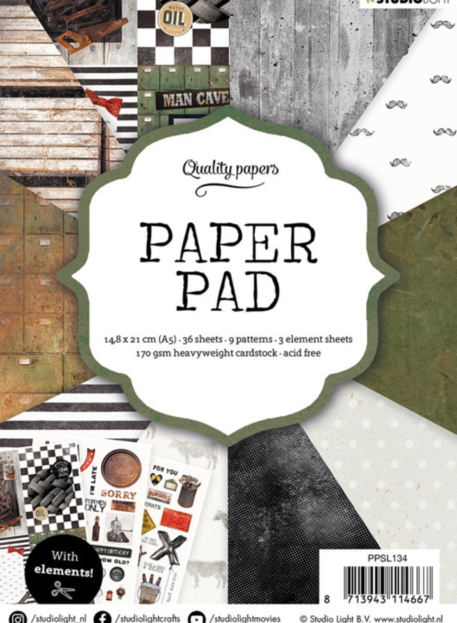 Studio Light - Paper pad Men