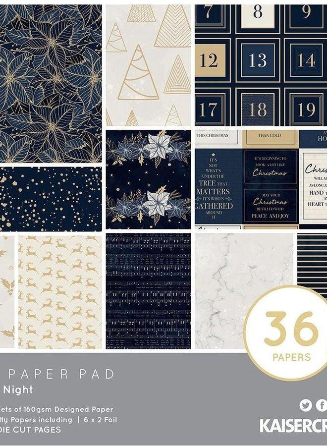 Kaisercraft Paper pad - Starry night
