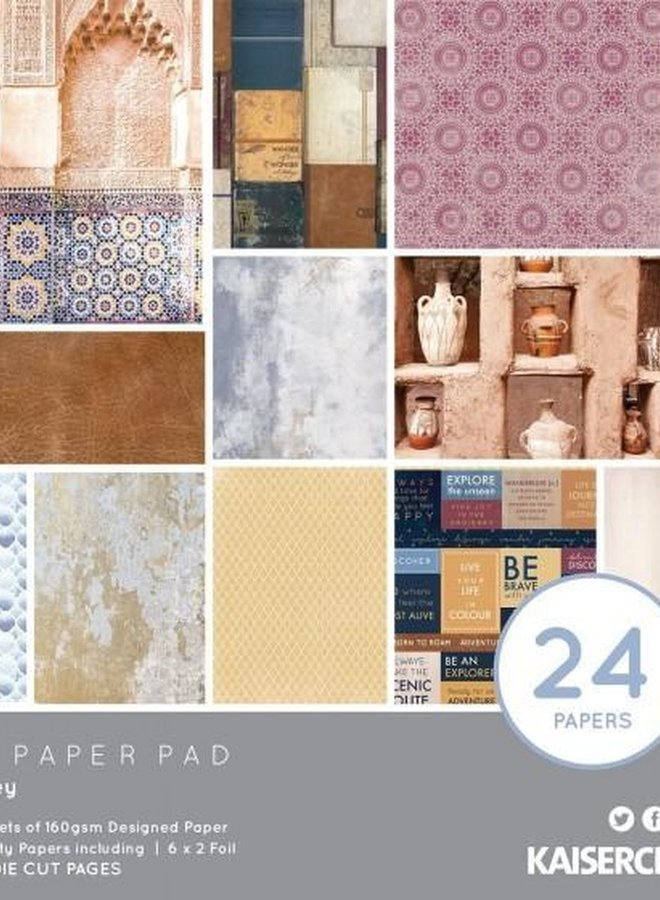 Kaisercraft paper pad - Journey