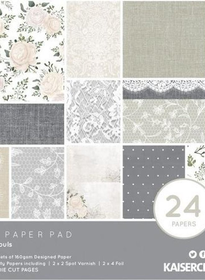 Kaisercraft paper pad - Two souls
