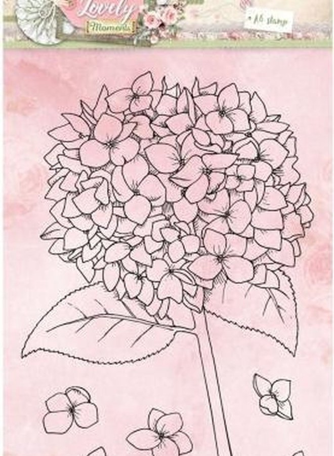 Studio Light - Clear stamp A6 Lovely Moments 389