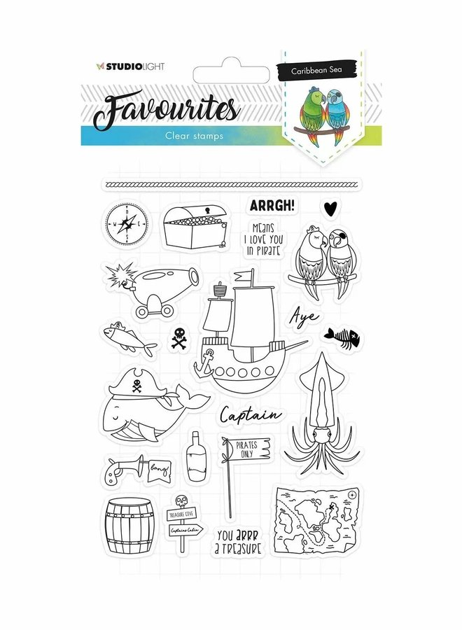 Studio Light - Clear stamp Favourites 384