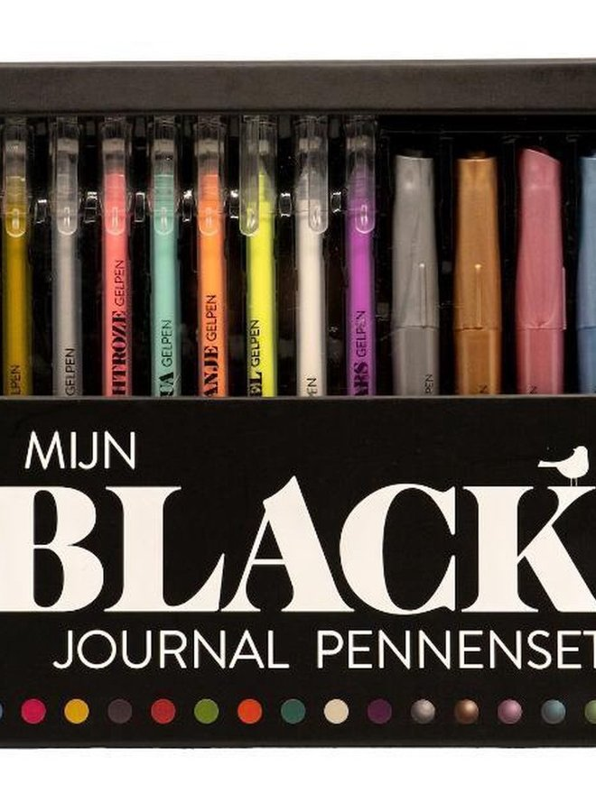 Mijn Black Journal   Pennenset