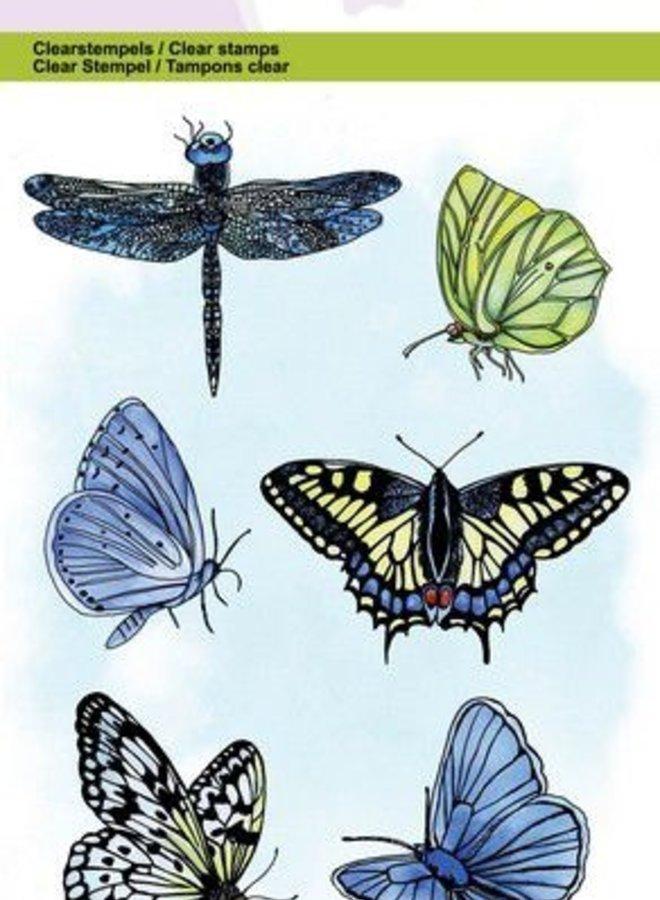Craftemotions I Vlinder en libelle