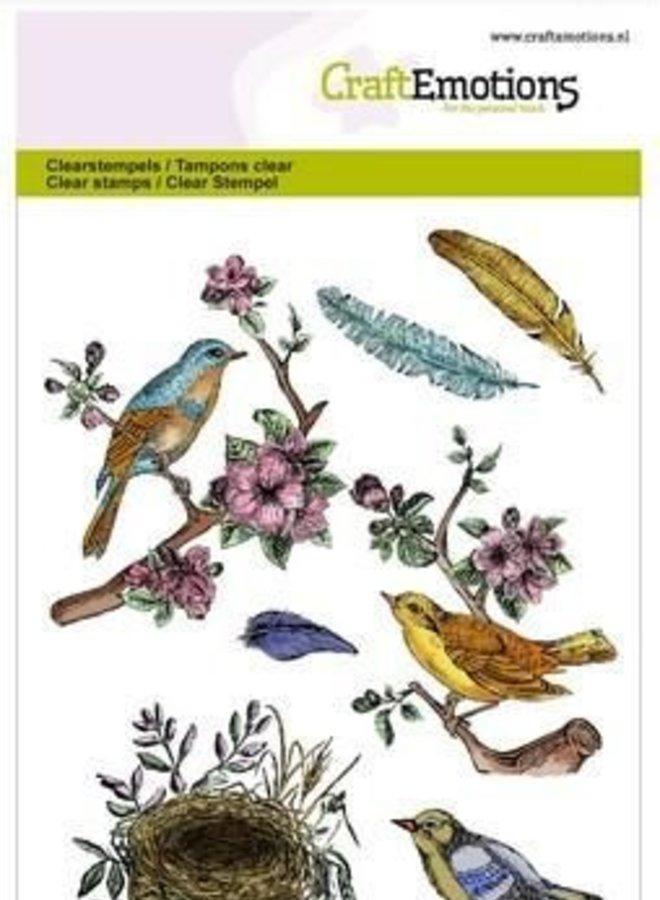 Craftemotions | Vogel nest