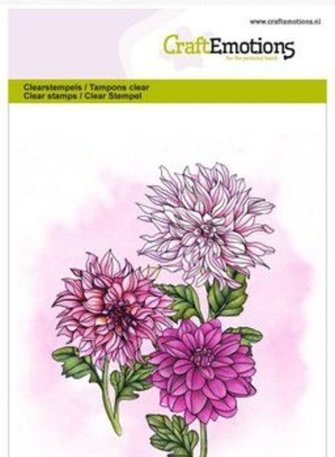 Craftemotions   Grote bloemen