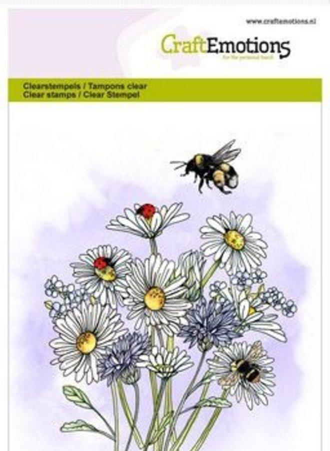 Craftemotions I Bloemen bijtjes
