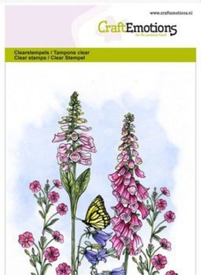 Craftemotions | Klokjes bloemen