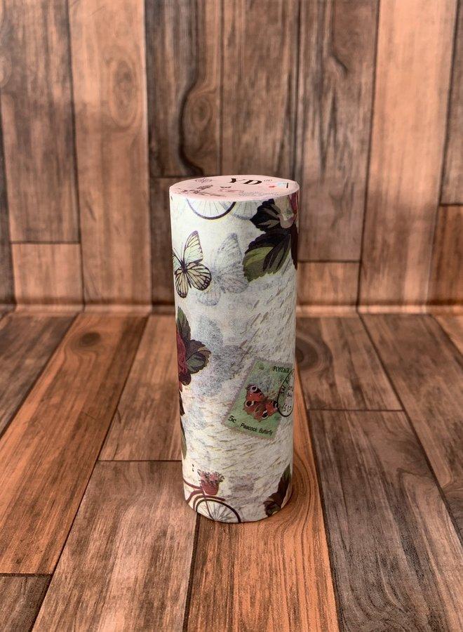 Washi tape I Vintage rozes - Breed