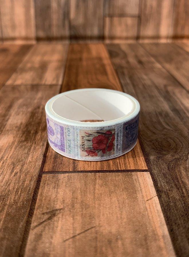 Washi tape I Postzegel