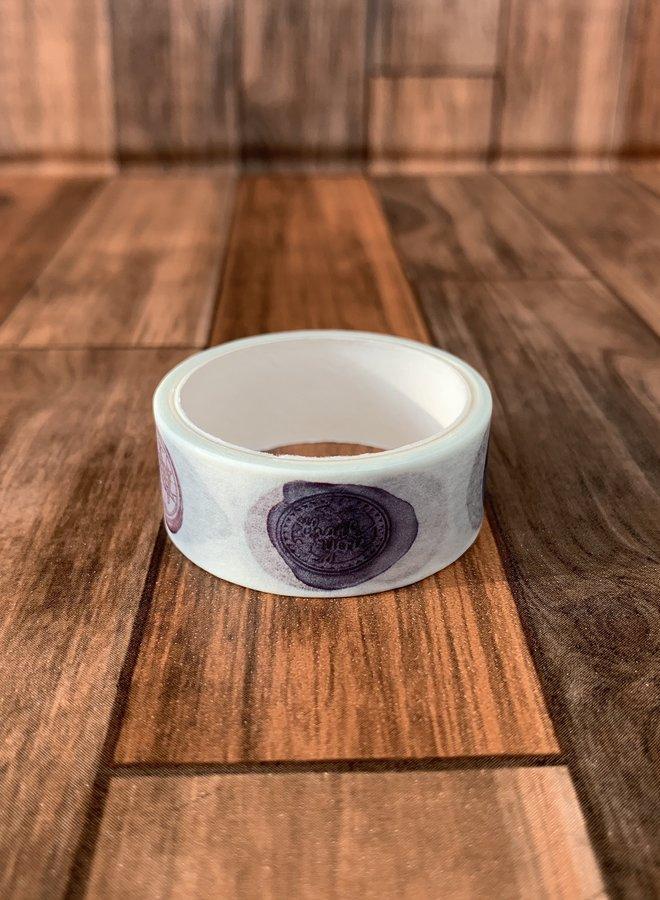 Washi tape I Wax stempel