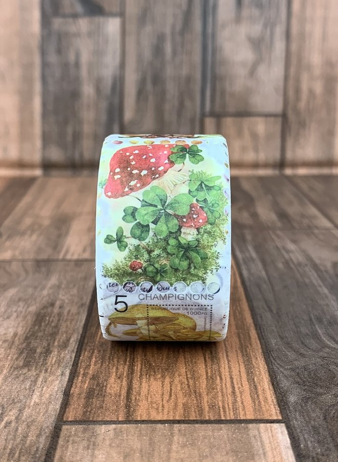 Washi tape I Postzegel Paddenstoel