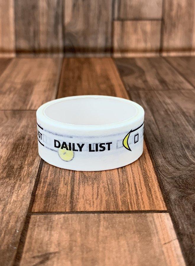 Washi tape | Dag tracker