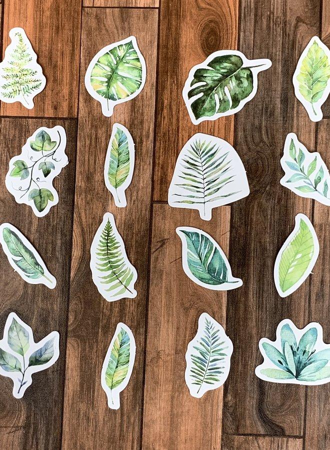 Stickers   Bladeren