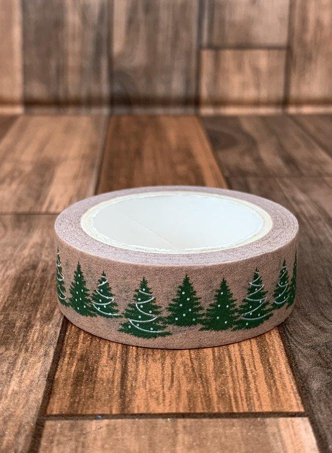 Washi tape | Kerstboom