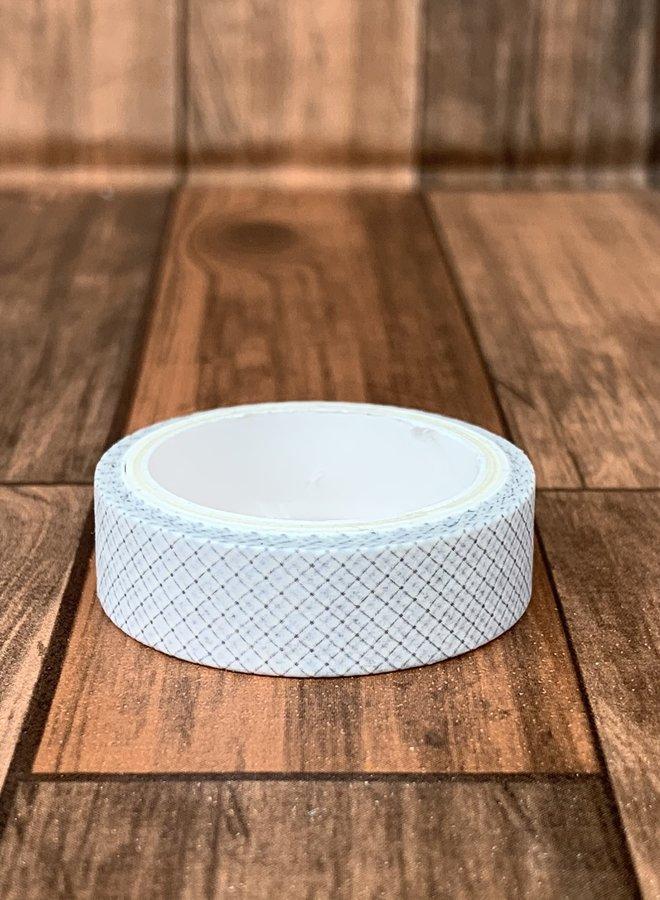 Washi tape | Witte kleine ruiten