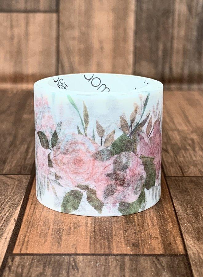 Washi tape l Roze rozen