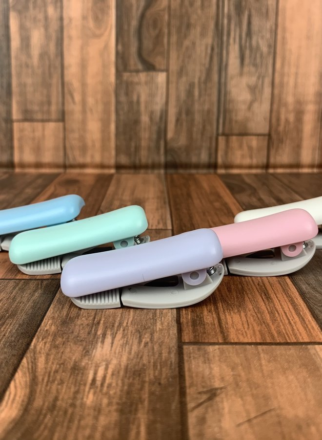 Washi tape clip | Blauw