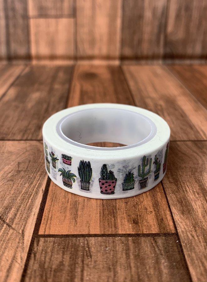 Washi tape I Cactus
