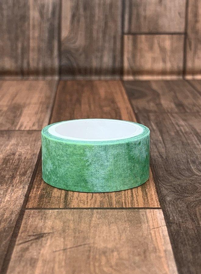Washi tape clip | Groen waterverf
