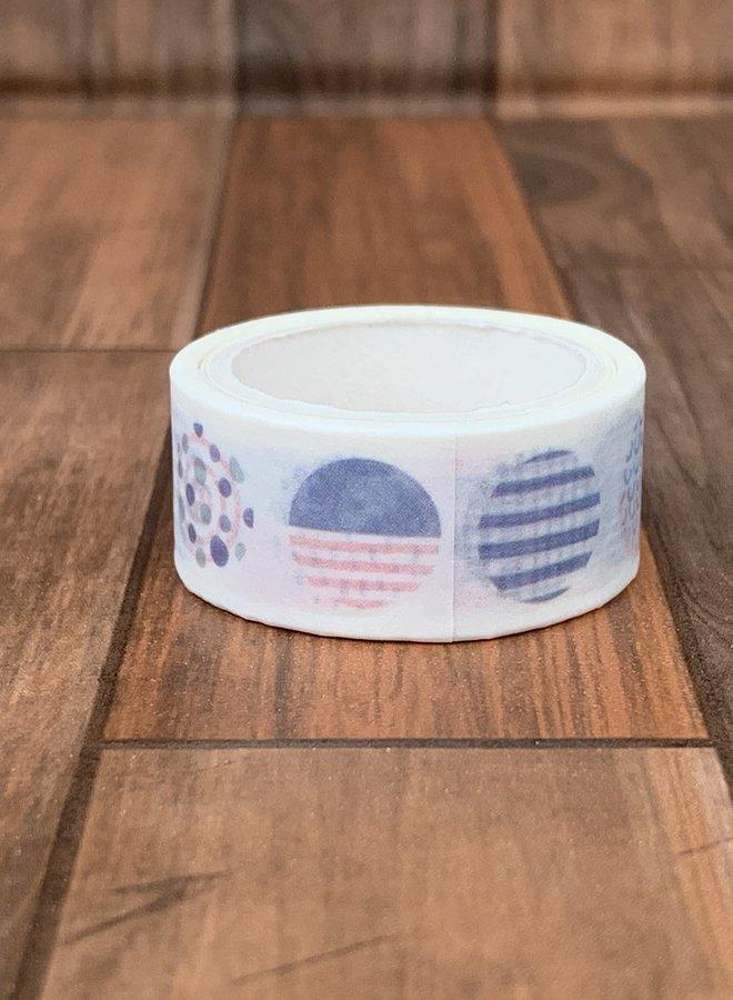 Washi tape | Gekleurde cirkels