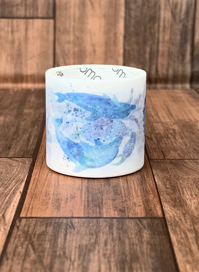 Washi tape | Waterverf water dieren - Breed