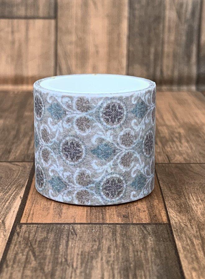Washi tape | Bloemen behang - Breed